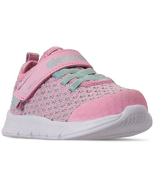9b13b111a5280 Skechers Toddler Girls' Comfy Flex - Sparkle Dash Athletic Sneakers from Finish  Line & Reviews - Finish Line Athletic Shoes - Kids - Macy's
