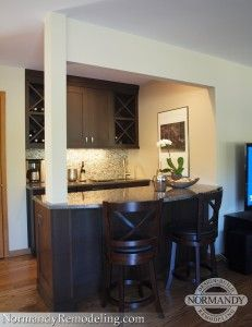 Great Home Bar Idea For The Living Room Thatu0027s Ideal For Entertaining!  Created By Normandy
