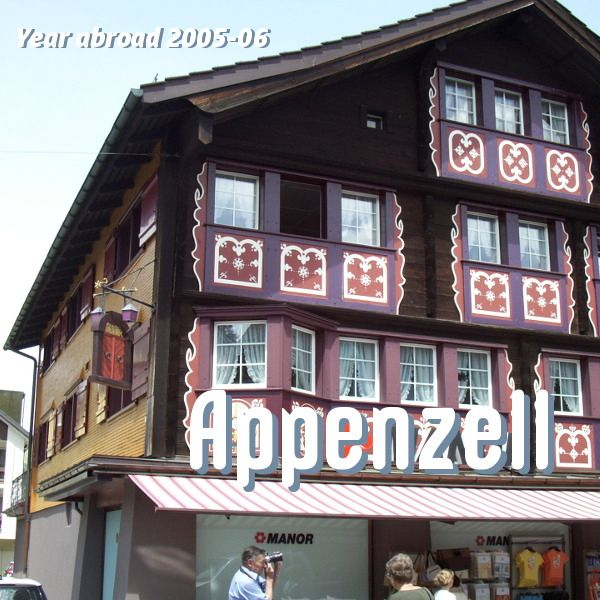 Appenzell is a lovely little corner of Switzerland, virtually untouched by the 21st century. It's farming country, full of rolling hills and moo-cows and villages made of traditional wooden houses. In Switzerland, voting is taken seriously and done canton by canton and Appenzell Innerrhoden, one of the two Appenzell half-cantons stills vote in the traditional… More Year Abroad: Appenzell