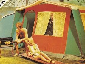 70's camping style, We had a tent something like this one.Camping with Mom (Joann Ferrell) dad (Charles ), Tina, Dorie, Charlie and me (Diana) OH The Memories. Lake Texhoma, Fort Cobb, Lake Tenkiller, Lake Thunderbird