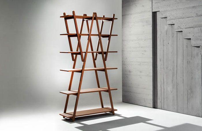 Novola Rossa Folding Bookcase   http://vurni.com/nuvola-rossa-folding-bookcase/