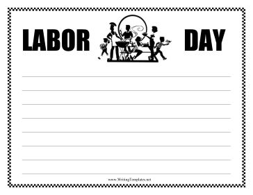best writing images writing prompts writing a picture of a fun barbeque decorates this printable labor day writing template