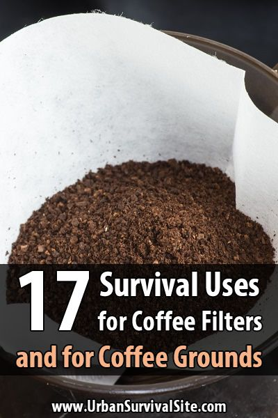 4 out of 5 Americans drink coffee, so odds are you have coffee filters and grounds. Learn how you can use them in a long-term disaster.