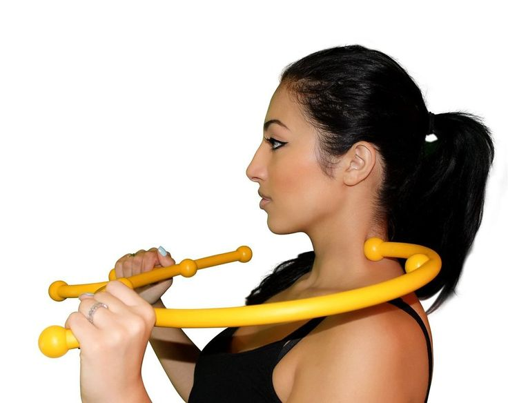 PHYSICAL THERAPY MASSAGE EQUIPMENT TOOL - Manual Back Hook Stick Pressure Relax