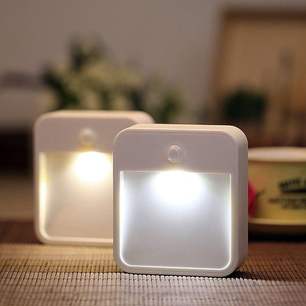Bathroom Night Light Ideas Part - 47: ARILUX® AL101N Battery Powered Wireless PIR Motion Sensor LED Night Light  For Bedroom Stair Hallway
