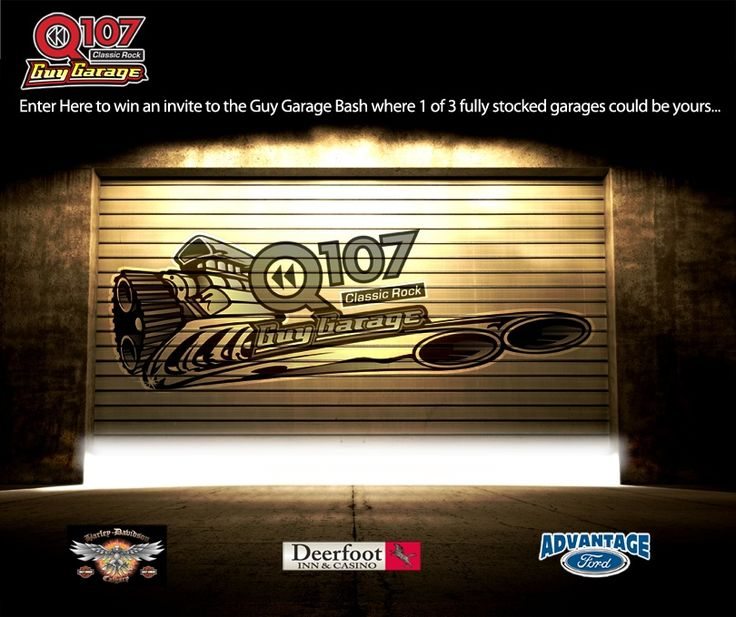 SoCast SRM & Q107 Calgary Launch 'The Guy Garage' Sweepstakes