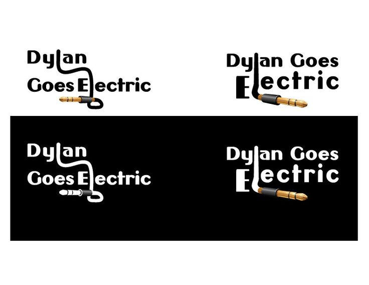 Dylan-Goes-Electric BAND LOGO