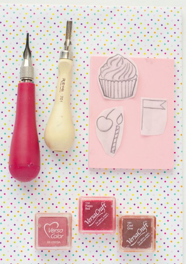 55 best craft images on pinterest christmas crafts for Como hacer sellos