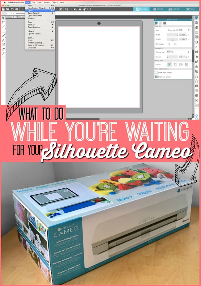 11 best cameo info images on pinterest silhouette cutter what to do while youre waiting for your silhouette cameo fandeluxe Image collections