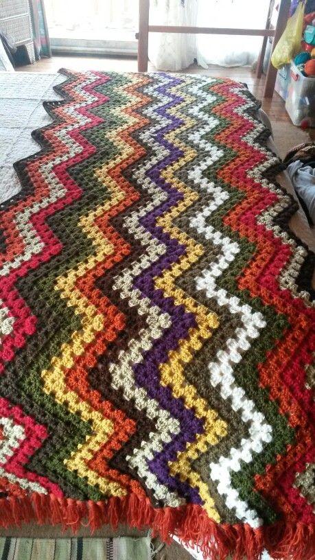 Piesera tejida a crochet