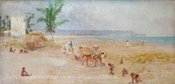 Sartorio - Haiti. La spiaggia (1924)