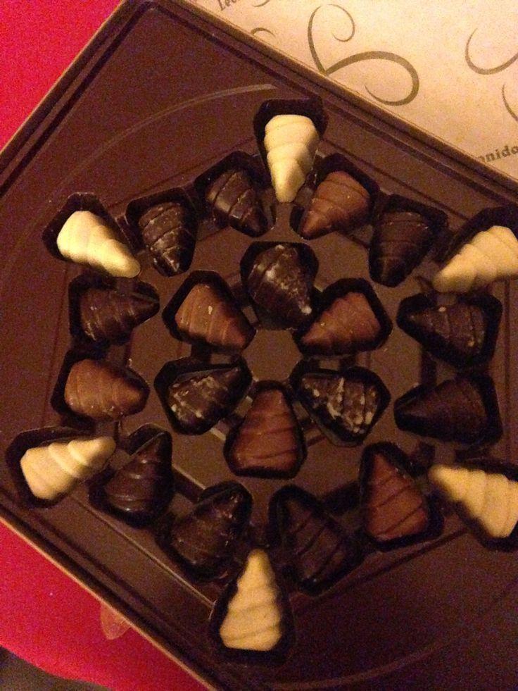 Les chocolats de noël 2015 Léonidas.