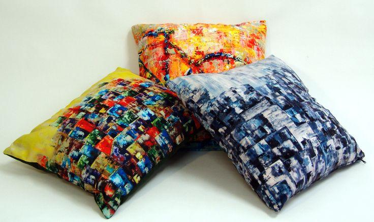Cushions by Paula Rindborg