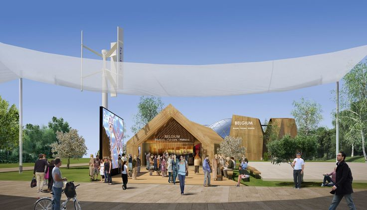 Belgium Pavilion At Expo Milano 2015 - Picture gallery