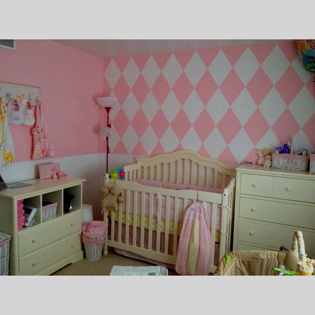 Baby girl nursery...just not so junky looking.: Baby Girl Nurserys, Baby Nurseries, Baby Girls Nurseries
