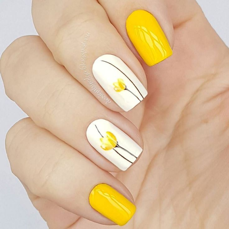 Uñas yellow