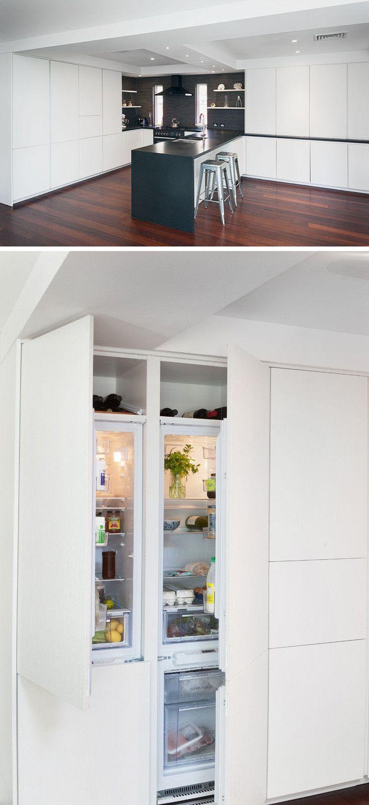 Uncategorized Kitchen Integrated Appliances best 25 integrated fridge ideas on pinterest kitchen design idea 10 inspirational examples of kitchens with fridges the fridge