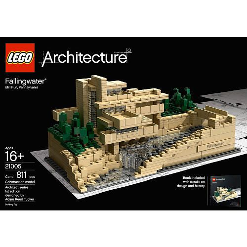 LEGO Architecture Fallingwater by Frank Lloyd Wright, got this for christmas