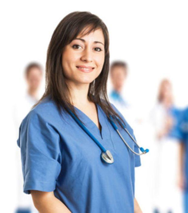 3 -Médicas e enfermeiras.