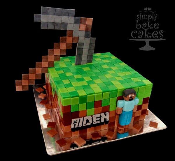 Minecraft cake Tutorial
