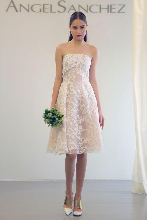 Fall 2015 Wedding Dresses - Best Fall Wedding Gowns At Bridal Fashion Week