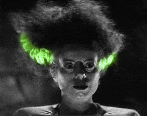 Bride of Frankenstein   (animated gif: click the pic!)