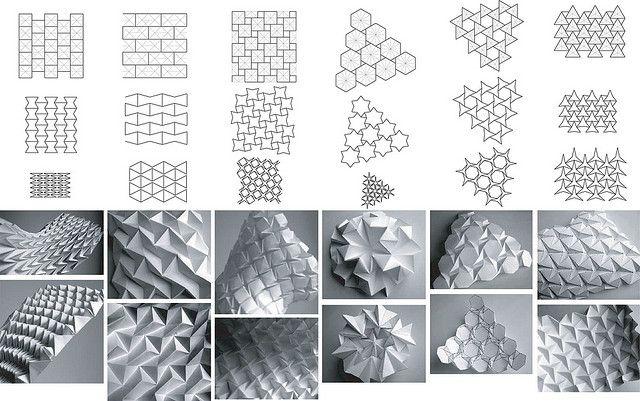 Folding Patterns by Daniel Piker, via Flickr