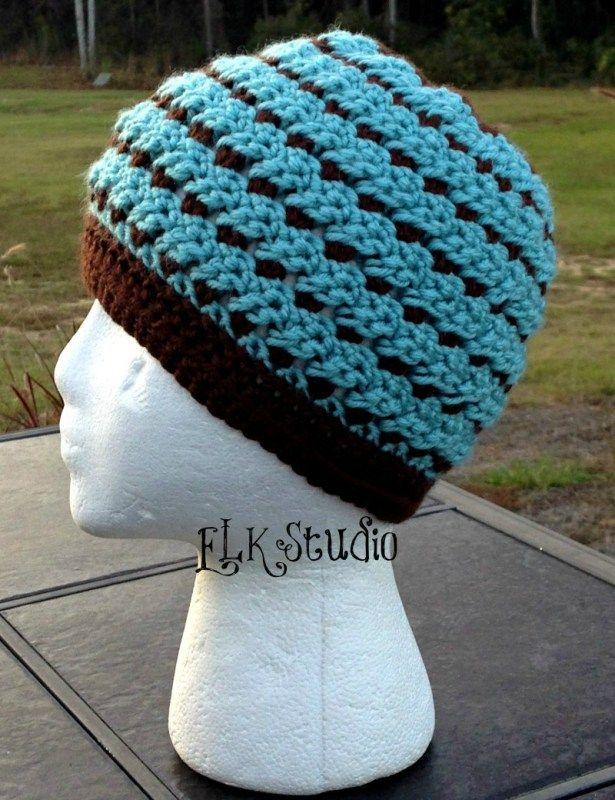 Mountain Mist Beanie - A Free Crochet Pattern by ELK Studio