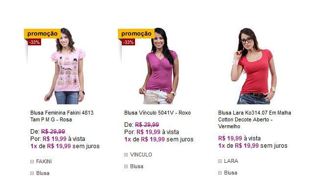 10 lojas online com roupas bacanas e baratas - Dicas de Mulher