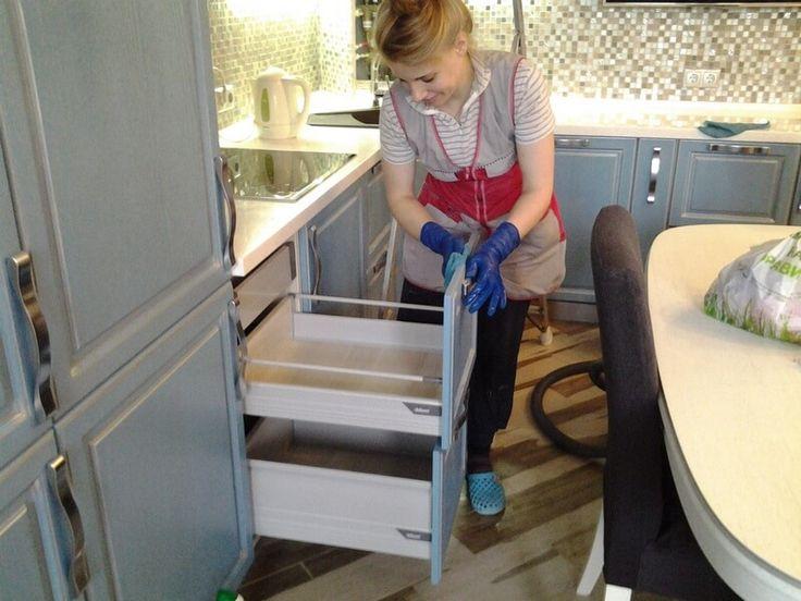 Уборка кухни в Харькове