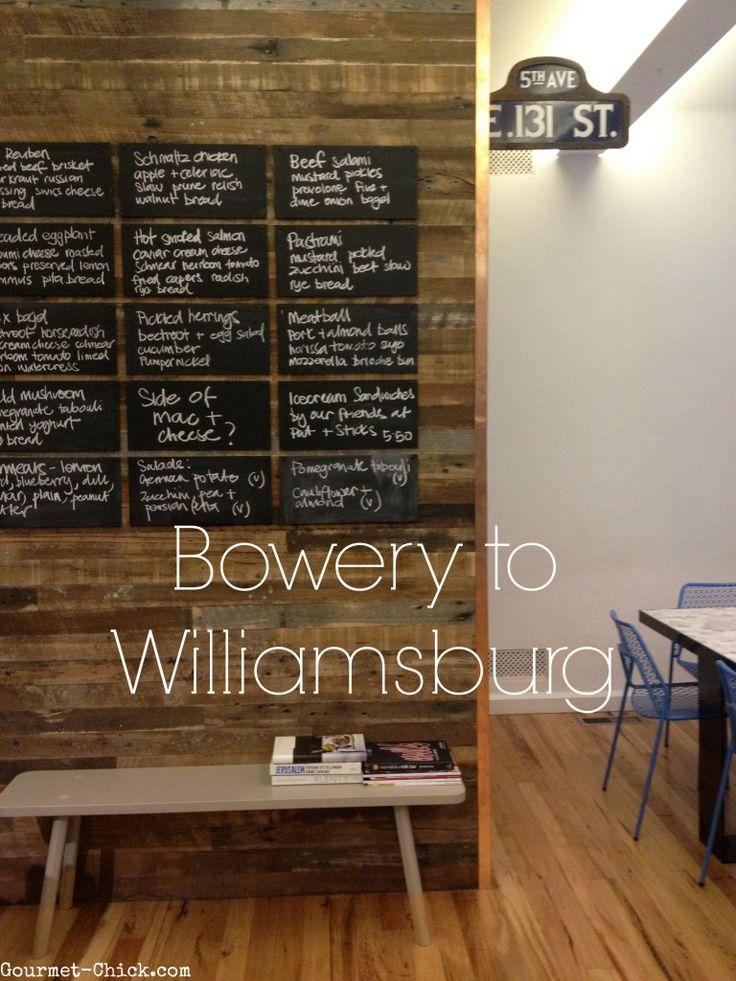 Bowery to Williamsburg: 16 Oliver Lane