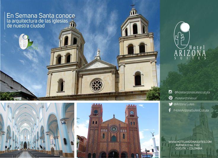 En semana santa te invitamos a que conozcas la arquitectura de las iglesias de nuestra ciudad patrimonio cultural. #cucuta #patrimoniocultural #semanasanta
