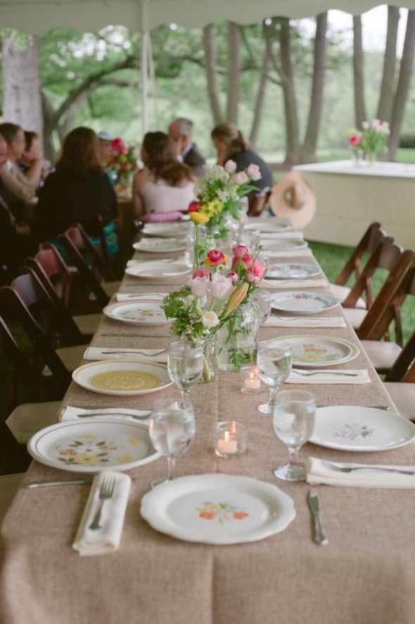 Rustic DIY Maryland Wedding & 53 best Vintage China images on Pinterest | Rustic wedding chic ...