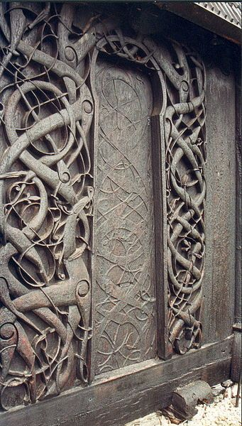 The Spaceship Crew is especially happy to know that the breathtakingly beautiful intertwined snake and dragon imagery suggestive of Ragnarok - the Norse conception of the End of the World is to be preserved for the digital aeons to come.  Read more at Inno Design (Norwegian only)