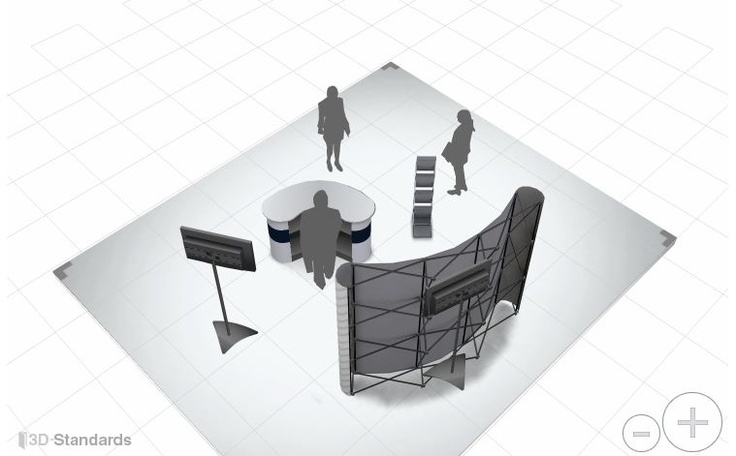 Sungard Exhibition Stand Here Alone : Best portable event displays images on pinterest