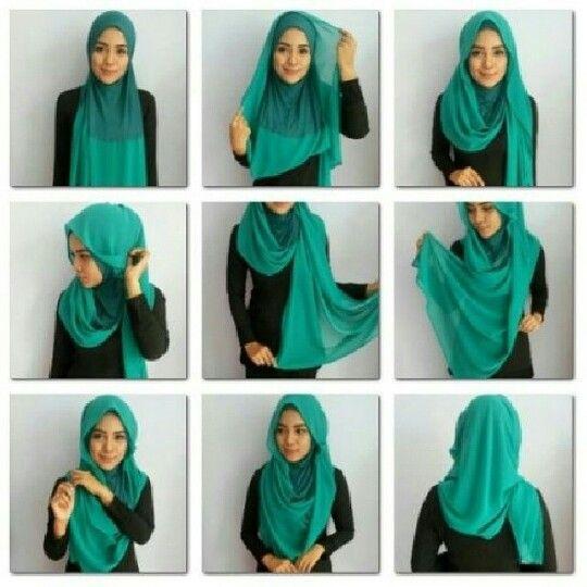 Radiusite :: hijab tutorial.. tudung instant? Nice..