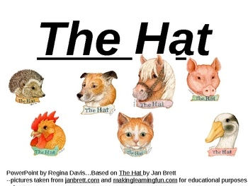 The Hat by Jan Brett: SequencingSequences Powerpoint, Reader ...
