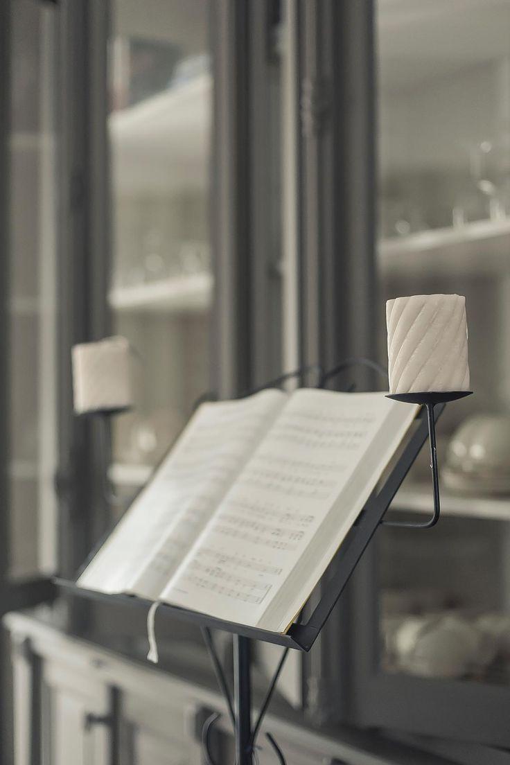 muziekstandaard zwart metaal | www.twoonhuis.nl