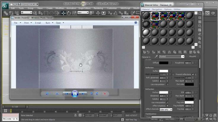 Cristal Transparente y Acido Tutorial 3ds Max