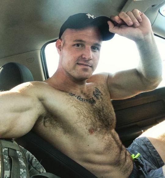 guy hairy shirtless