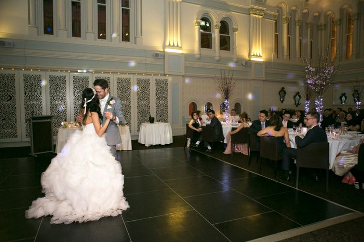 First dance at The Tea Room, QVB | Image: Silk Truffle Photography