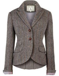 This is the kind of structured jacket I could use with several pairs of pants for work.
