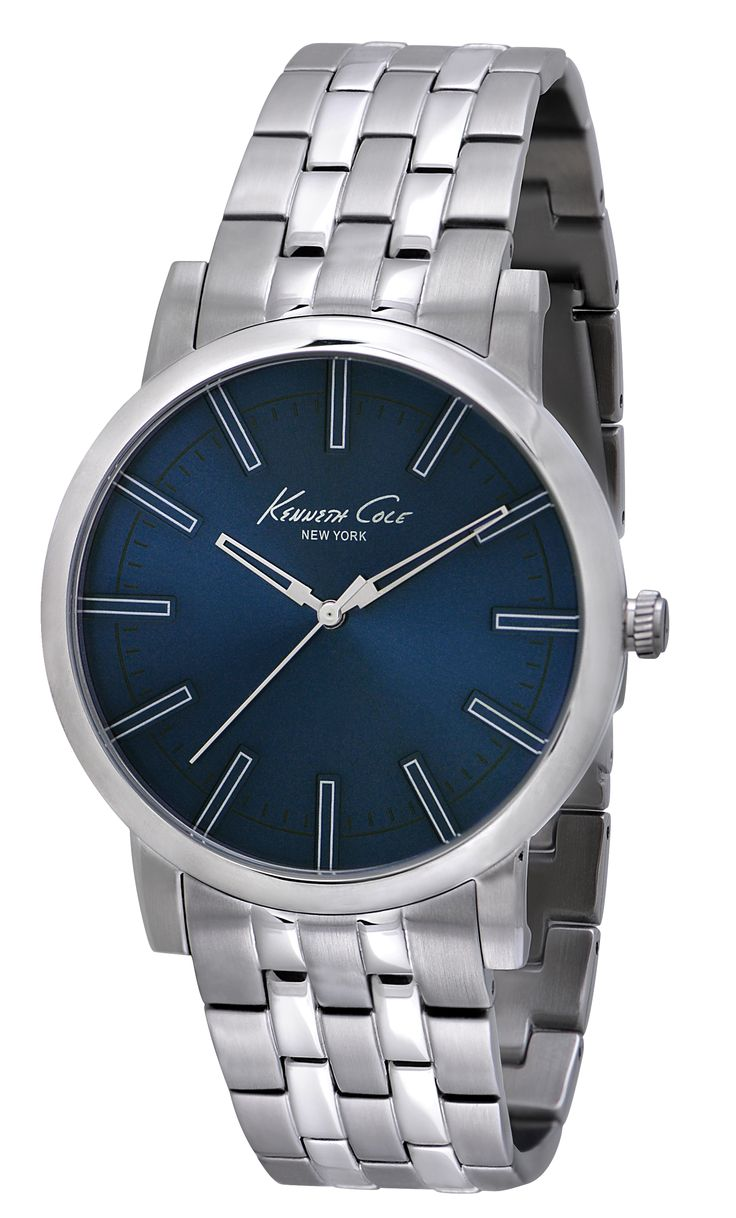 IKC9234 | 1,798 kr UPC: 020571101104 SLIM STAINLESS STEEL ROUND CASE, BLUE DIAL WITH SILVER ACCENTS, MINERAL GLASS CRYSTAL, THREE HAND MOVEMENT, STAINLESS STEEL BRACELET WITH TWO BUTTON FOLD-EVER CLASP. 43.5MM CASE 3 ATM Hitta butiker på www.swgroup.se