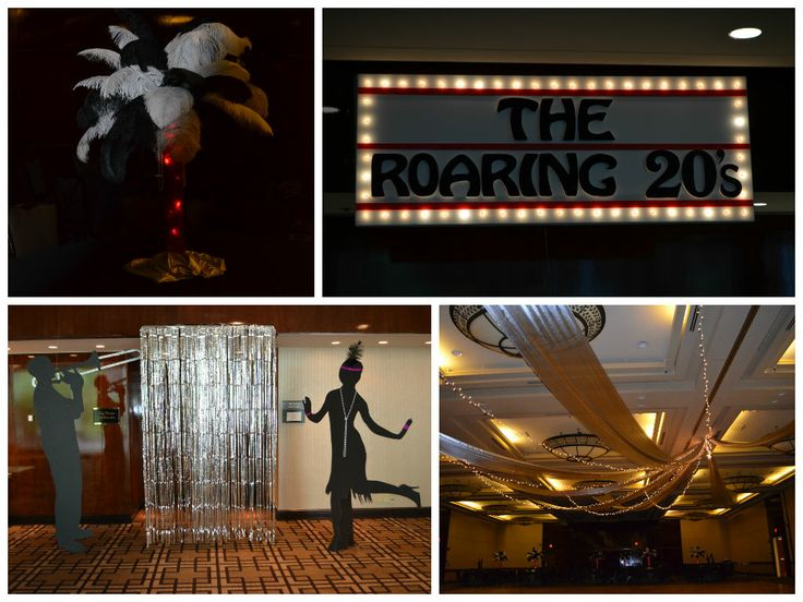 The roaring 20s themed party by for 1920s decoration party