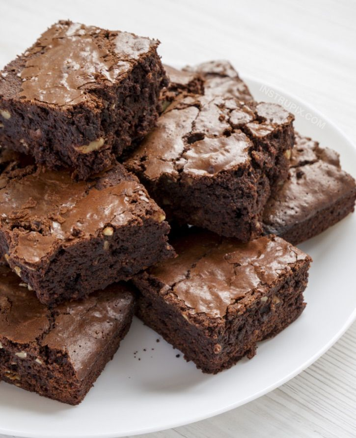 Easy Keto Brownies Made With Almond Flour