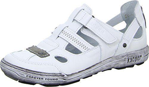 Kacper 2-4355 Damenschuh Sandalette Slipper Freizeit Ziernähte Leder - http://on-line-kaufen.de/kacper/42-eu-kacper-2-4355-damenschuh-sandalette-slipper