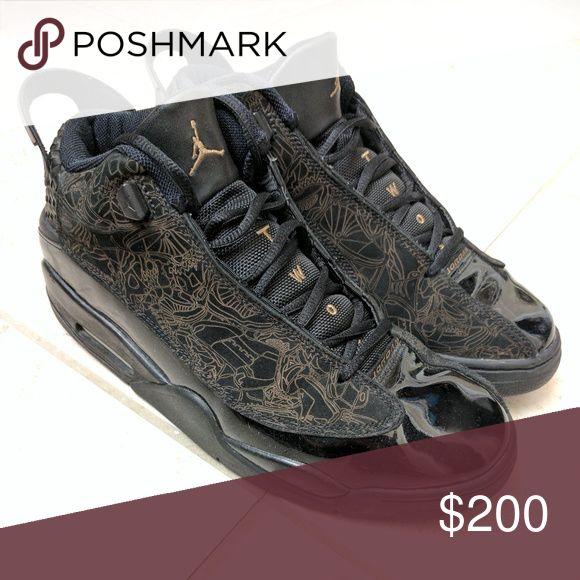 "Jordan ""Dub Zero"" Black/Taupe size 10 Jordan Shoes Sneakers"
