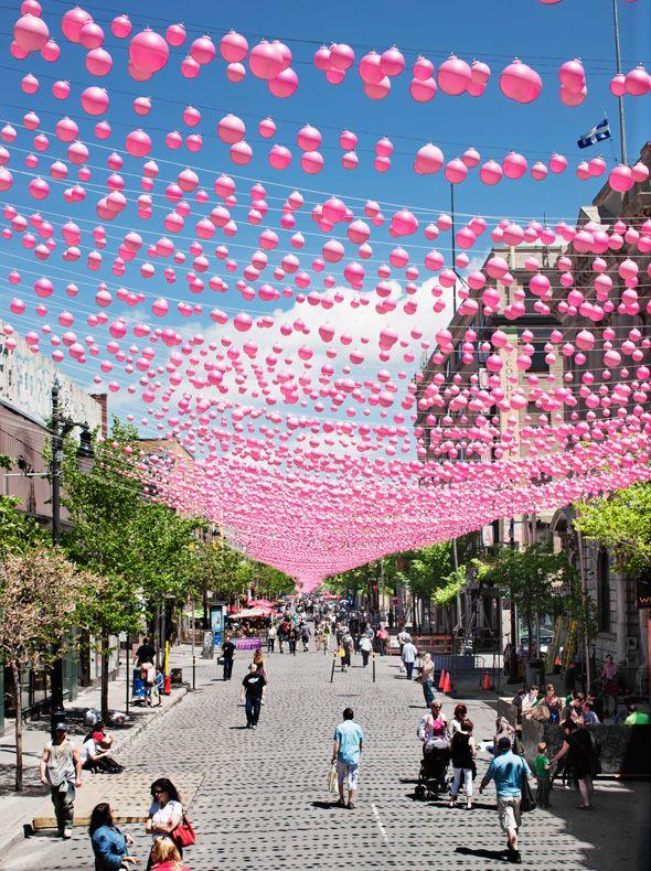 Pink Balls / Claude Cormier + Associés Montréal / Canada / 2011