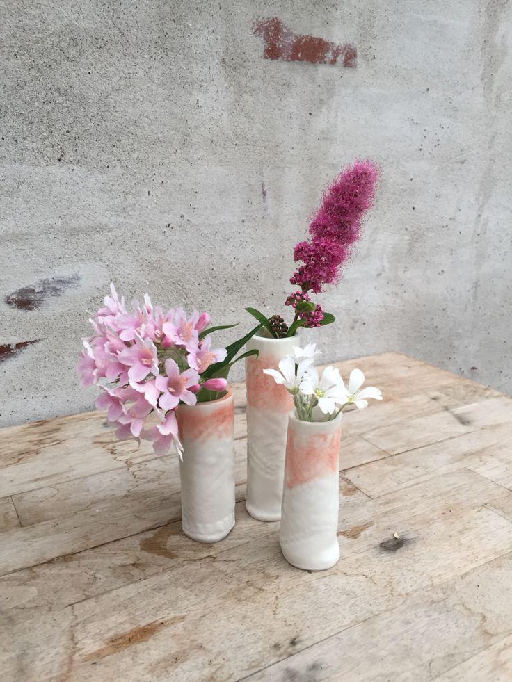 Small ceramic vases