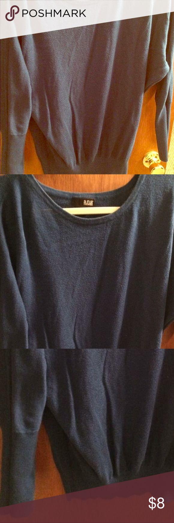 Ana blue sweater size small Ana sweater purchased at JCPenny. Blue size small. jcpenney Sweaters Crew & Scoop Necks